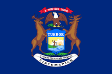 Michigan Jobs Flag