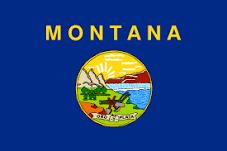 Montana Jobs Flag