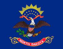 North Dakota Jobs Flag