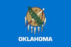 Oklahoma Jobs Flag