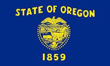 Oregon Jobs Flag
