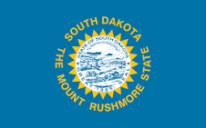South Dakota Jobs Flag